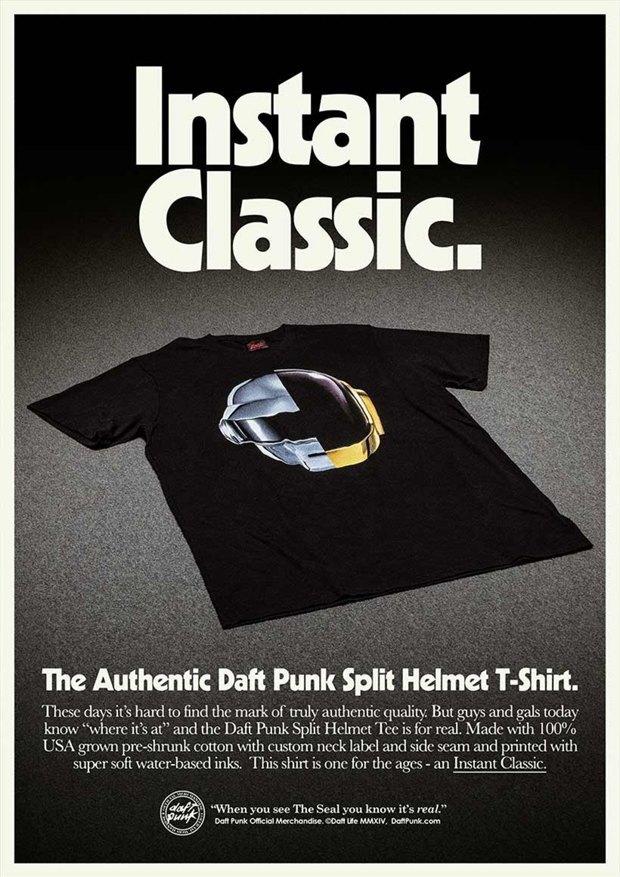 Daft Punk прорекламировали свой мерч на ретро-постерах. Изображение № 4.