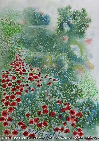 Shinkarchuk Anatoly watercolor and Japan Шинкарчук Анатолий акварель и Япония. Изображение № 11.