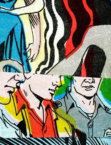 Зловещие и мрачные ретро-иллюстрации, переделанные из детских комиксов. Изображение № 9.