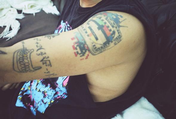 Изображение 78. На полруки: о татуировках в Мадриде.. Изображение № 8.