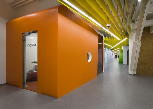Появились фотографии нового офиса «Яндекса» в Санкт-Петербурге. Изображение № 8.