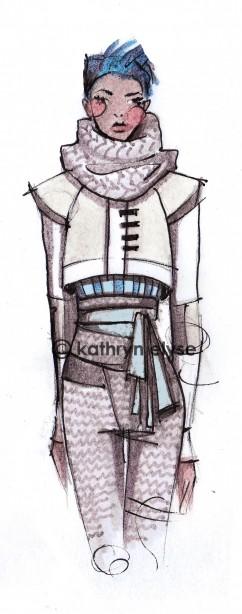 Kathryn Elyse. Fashion Illustrations. Изображение № 19.