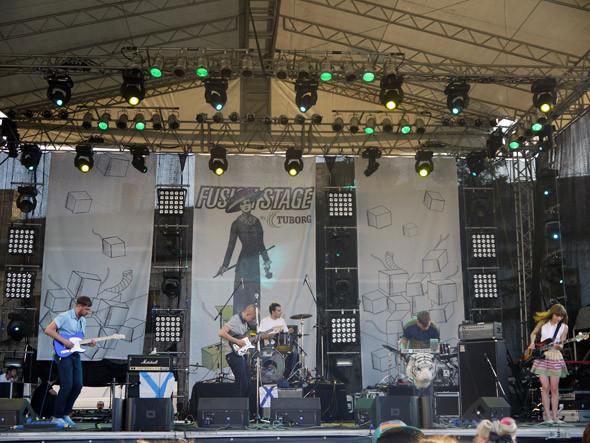 Fusion — сцена для инди-хедлайнеров. На концертах Beirut и Hadouken! вмещала около трех тысяч зрителей. Изображение № 5.