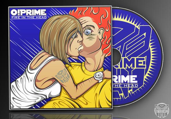 Изображение 1. FIRE IN THE HEAD - Новый EP альбом от группы O!PRIME.. Изображение № 1.