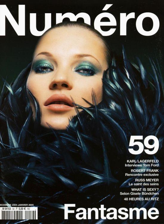 Кейт Мосс, наобложках главных модных журналов планеты. Изображение № 7.