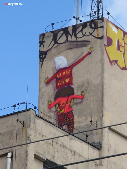 Граффити художники Os Gmeos о творческом пути. Изображение № 9.