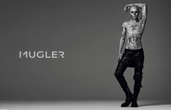 Изображение 1. Мужские рекламные кампании: Mugler, Versace и другие.. Изображение № 20.