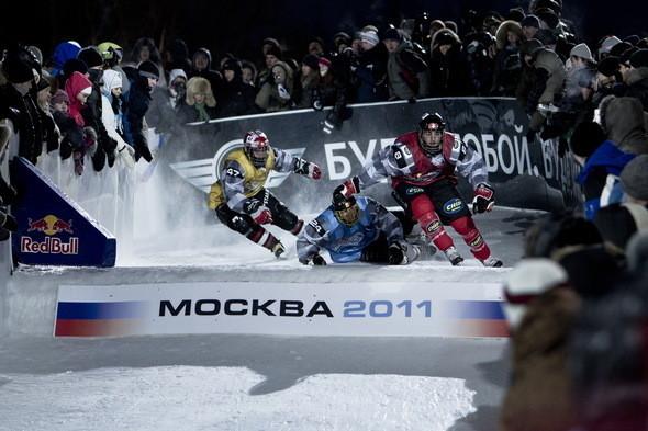 Изображение 6. Финляндия взяла реванш в Москве 26 февраля (Red Bull Crashed Ice 2011).. Изображение № 6.