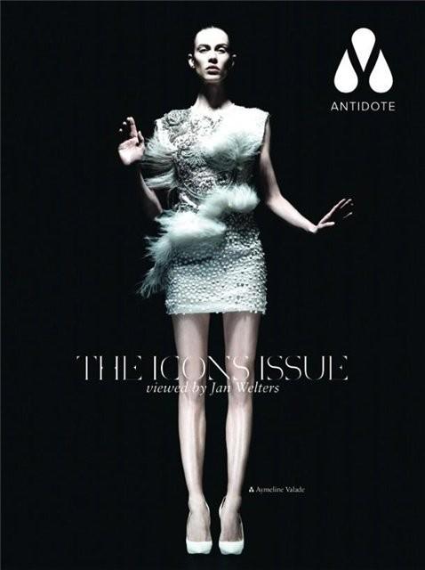 Супермодели на обложке Antidote Magazine. Изображение № 9.