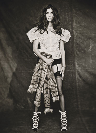 Съёмка: Карин Ройтфельд в объективе Паоло Роверси. Изображение № 8.