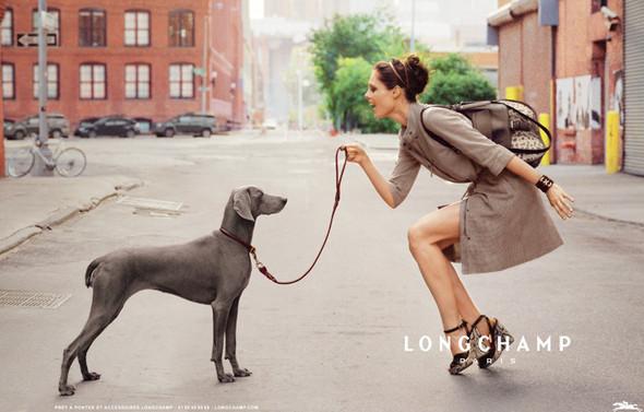 Превью кампании: Коко Роша для Longchamp SS 2012. Изображение № 2.