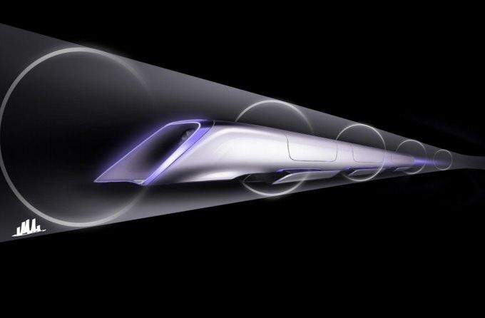 Элон Маск представил новый сверхскоростной транспорт. Изображение № 2.
