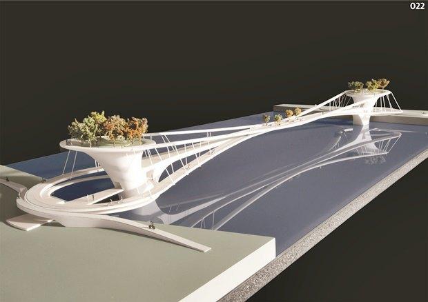 Выложены 74 проекта нового моста через Темзу. Изображение № 64.
