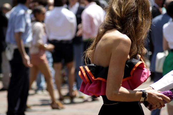 Изображение 14. Девушки на Milan Fashion Week: день 3 и 4.. Изображение № 13.