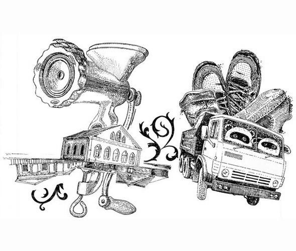 Личный опыт: 5 российских иллюстраторов, которые работают для зарубежных проектов. Изображение № 67.
