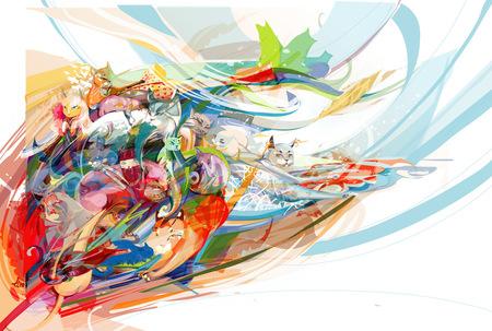 Limkis иеё живописный вектор. Изображение № 1.