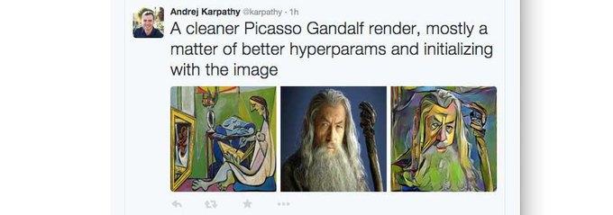Нейронную сеть научили имитировать стили художников . Изображение № 2.
