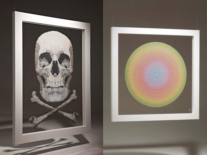 Художник выставит в Лондоне картины из таблеток экстази . Изображение № 1.