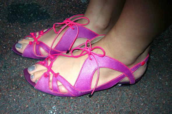 Обувь на неделе моды в Лондоне. Изображение № 11.