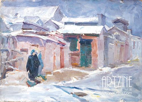 Хуан Жуй (Huang Rui). Landscape. 1980. Изображение № 2.