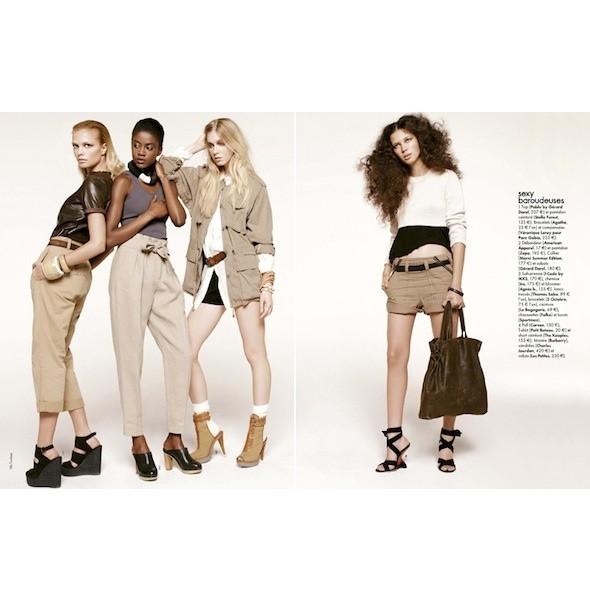 5 новых съемок: Amica, Elle, Harper's Bazaar, Vogue. Изображение № 11.