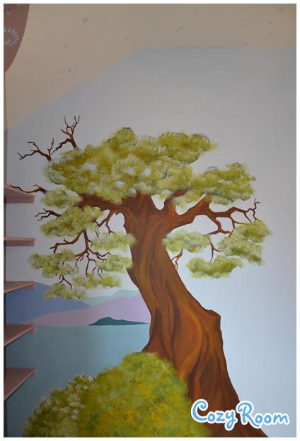 Детская комната по мотивам мультфильма «Рапунцель. Запутанная история». Изображение № 8.