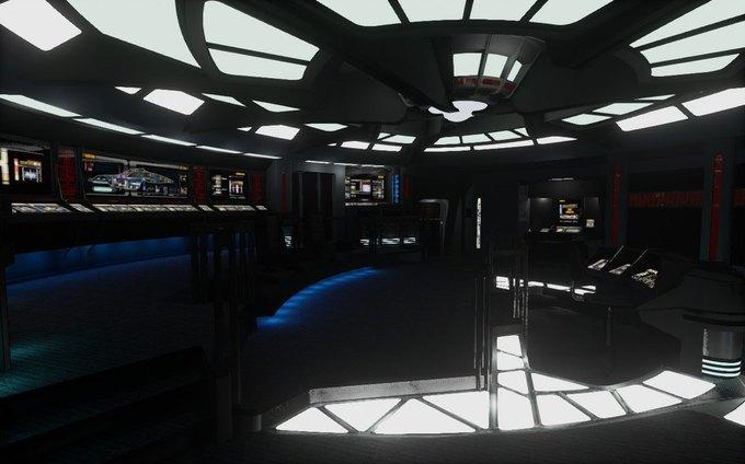 Капитанский мостик корабля из «Звёздного пути» создали для Oculus Rift . Изображение № 1.