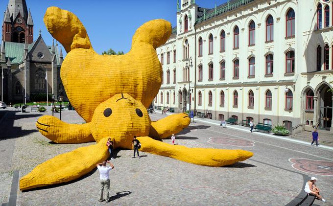 Скульптура художника в Эребру (Швеция). Выставка искусства на открытом воздухе OpenART, 2011 год. Изображение № 4.