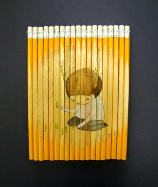 Карандаши какхолст. Изображение № 5.