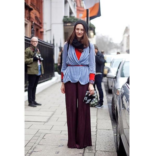 Изображение 159. На полях: 10 тенденций уличного стиля с прошедших недель моды.. Изображение № 159.