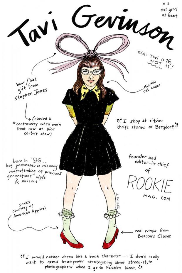 Иллюстрации икон моды от Джоаны Авильес. Изображение № 9.