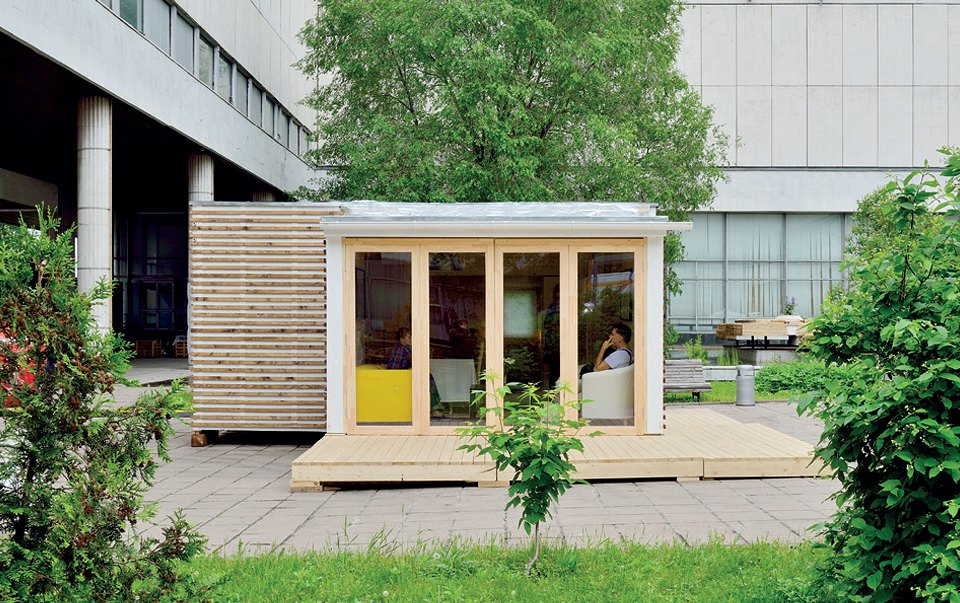 Создатель Futteralhausо том, почему умрёт традиционная архитектура. Изображение №3.