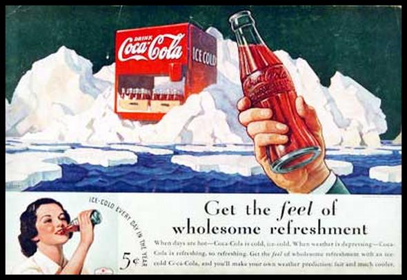 Изображение 12. Coca-cola – История бренда, история рекламы.. Изображение № 12.
