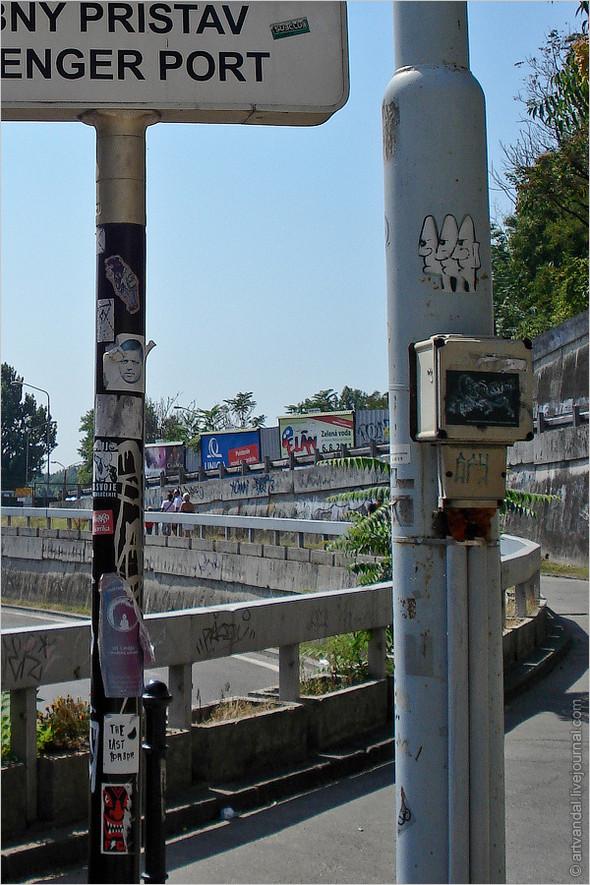 Стрит-арт и граффити Братиславы, Словакия. Изображение № 29.
