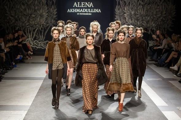 Показ Alena Akhmadullina FW 2011 на Volvo Fashion Week. Изображение № 9.