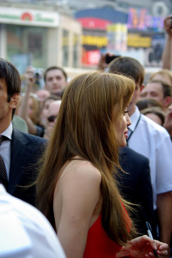 Анджелина нагревает Москву. Изображение № 13.