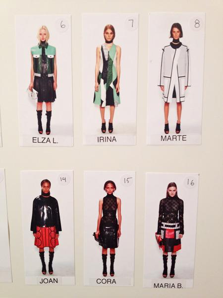 Дневник модели: Эксклюзив для Proenza Schouler на Нью-Йоркской неделе моды. Изображение № 24.