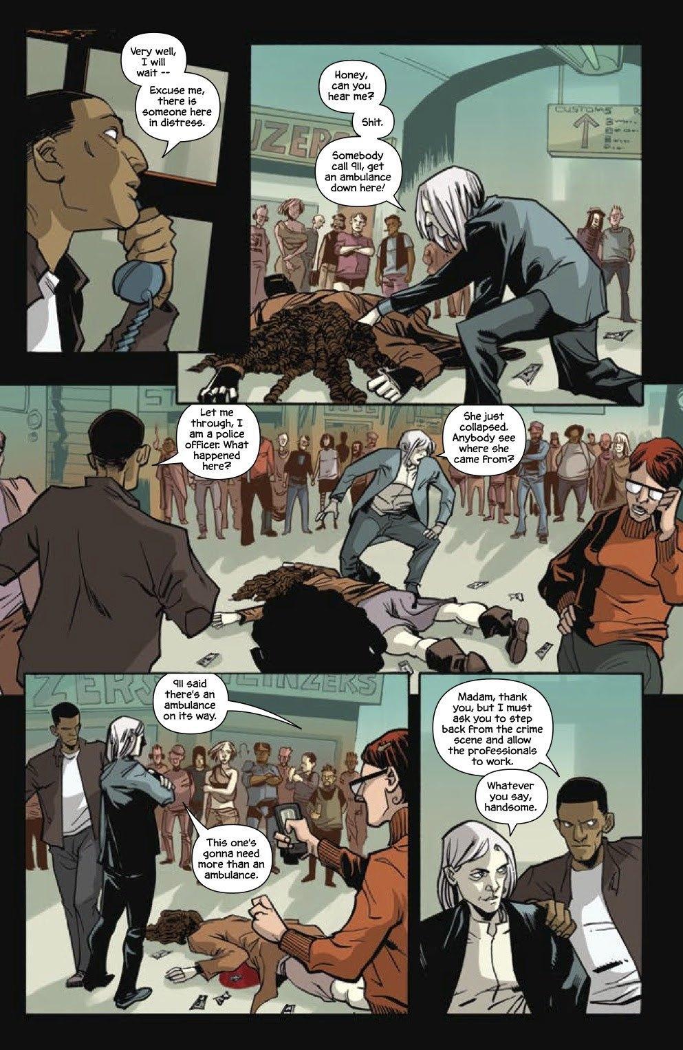 Автор комикса The Fuse об отношении иностранцев к России и женщинах-полицейских. Изображение № 10.