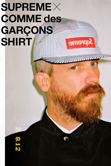 Лукбук: Comme des Garcons SHIRT x Supreme. Изображение № 2.
