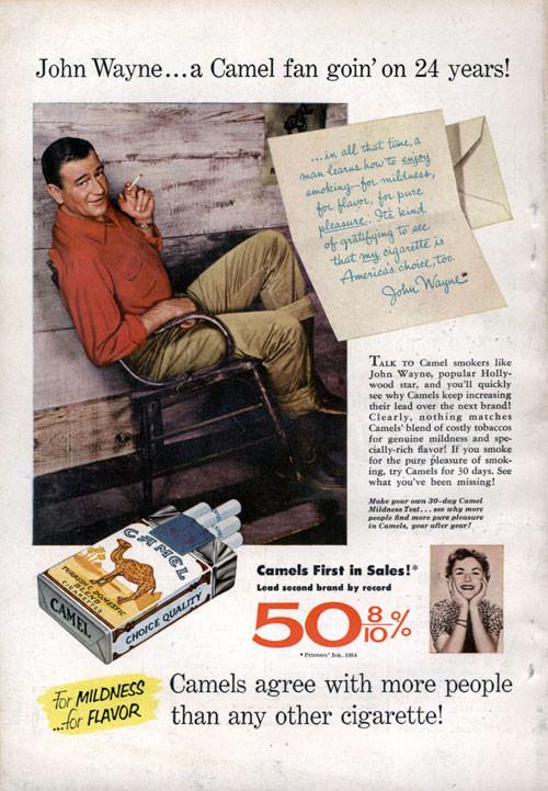 Винтажная реклама табака. Изображение № 1.