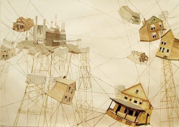 Города сточки зрения иллюстратора ЭмиКэйси. Изображение № 10.