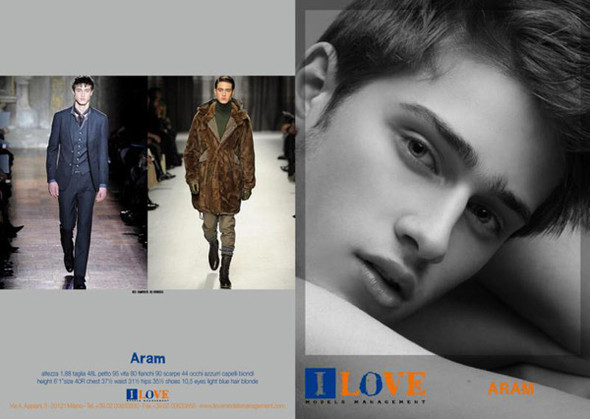 Show Package – Milan Men SS 10: I Love Models Mgmt. Изображение № 6.