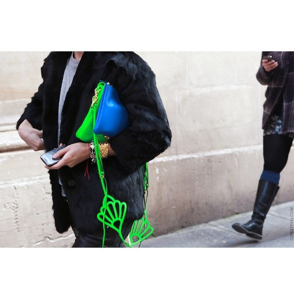Изображение 79. На полях: 10 тенденций уличного стиля с прошедших недель моды.. Изображение № 79.
