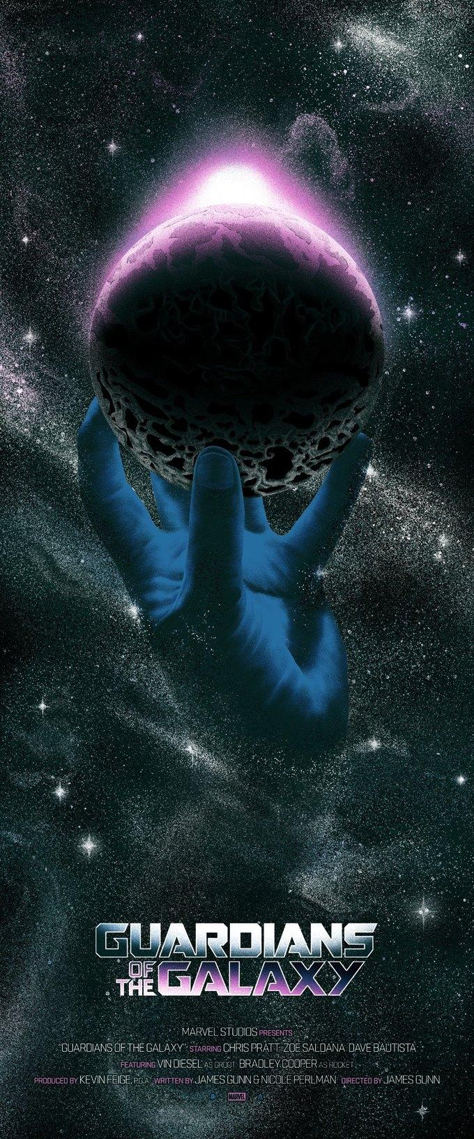 Опубликованы 44 фанатских постера к «Стражам Галактики». Изображение № 2.