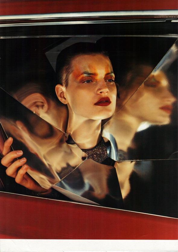Архивная съемка: 1999 год, Жиневье ван Синус в объективе Марио Сорренти. Изображение № 5.