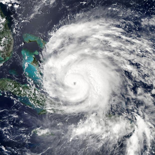 Ураган «Айрин», вид сверху. Изображение № 2.