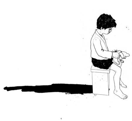 Дэвид Фолдвари – смешанная техника. Изображение № 2.