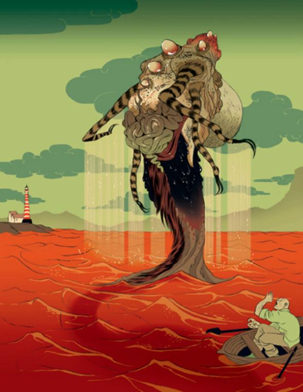 Иллюстрации Томера Хануки. Изображение № 4.