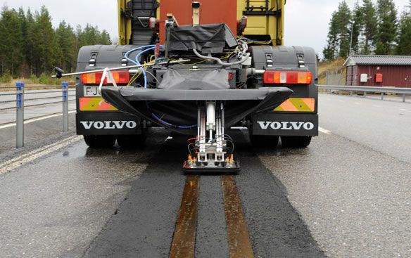 Volvo тестирует электрифицированное дорожное полотно. Изображение № 1.