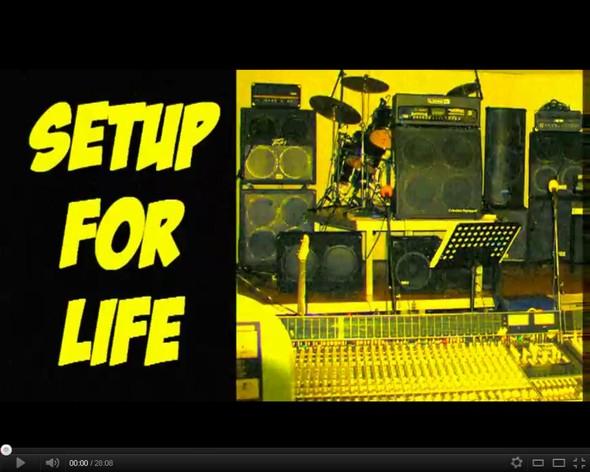 Setup For Life - by Miron (видео про железо известных музыкантов). Изображение № 1.
